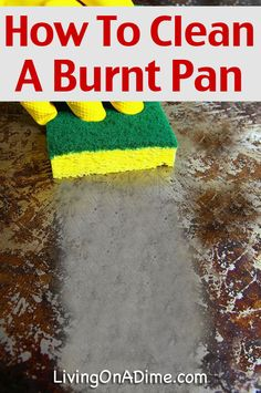 1000 Ideas About Clean Burnt Pots On Pinterest Cleaning