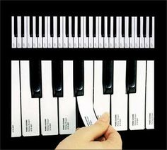 Creative way to advertise piano lessons or a piano studio