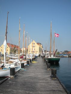 Svendborg, Denmark - crazy night here when my Danish sister was in college