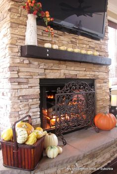 Love stone fireplaces!