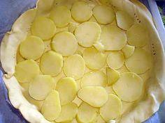 La meilleure recette de Quiche aux pommes de terre ,jambon cru et camembert! L'essayer, c'est l'adopter! 4.8/5 (16 votes), 46 Commentaires. Ingrédients: 1 pâte feuilletée 6 pommes de terre 1 camembert coulommier 7 tr de jambon cru 2 oeufs 2 grosse c à s de crème fraiche bombée poivre Look And Cook, Quiche Lorraine, Charcuterie, Macaroni And Cheese, Food To Make, Entrees, Brunch, Food And Drink, Tasty