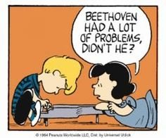 Snoopy Schroeder and Lucy Music Jokes, Music Humor, Funny Music, Snoopy Love, Charlie Brown And Snoopy, Never Fall In Love, Peanuts Characters, Cute Comics, Calvin And Hobbes