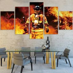 Soldier Quotes, Canvas Artwork, Canvas Prints, Multi Picture, Cafe House, Decoration, Wall Art Decor, Frame, Hero