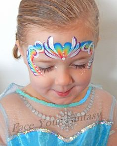 #rainbow #rainbowfacepaint #rainbowheart #heart #facepaint #facepainting #faceyourfantasy #hobart #hobartfacepainting #hobartfacepainter #petarogers