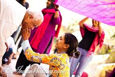 The haldi ceremony is one of the important pre-wedding rituals. Wedding Images, Wedding Pictures, Luxury Wedding, Destination Wedding, Haldi Ceremony, Wedding Rituals, Traditional Indian Wedding, South Asian Wedding, Bride Groom