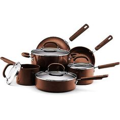My Dream Set  Earth Pan 10-Piece PFOA Free Non-Stick Cookware Set