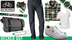Decked Out: On Two Wheels