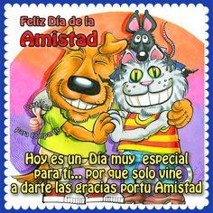 Feliz día de la #amistad