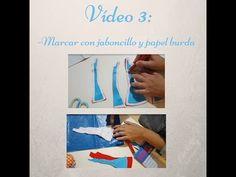 (74) Cómo cortar el cuerpo de flamenca. Vídeo 3; marcar. - YouTube