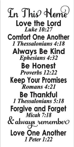 primitive stencil in this home family rules with bible verses large 12 for painting signs airbrush crafts and primitive decor Prayer Quotes, Bible Verses Quotes, Sign Quotes, Bible Scriptures, Faith Quotes, Scripture Quotes, Images Bible, Wood Signs Sayings, Forgive And Forget