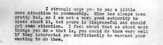 Excerpt from October 10, 1934 letter containing some fatherly advice from JPK Sr. to JFK. (JPK Papers, Box 1) JPK019