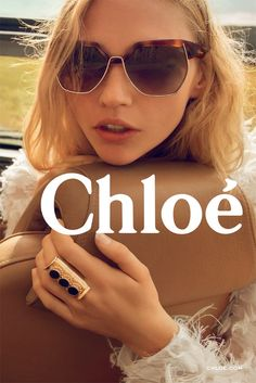 An ad from Chloé's fall campaign, shot by Inez van Lamsweerde and Vinoodh Matadin. [Courtesy Photo]