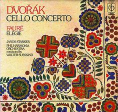 Starker Cello Dvorak Concerto Faure Elegie
