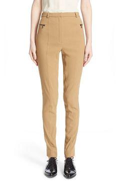 LANVIN Slim Linen Blend Pants. #lanvin #cloth #