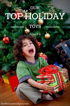 Our Top Holiday Toys for Ages 3–6 | firefliesandmudpies.com
