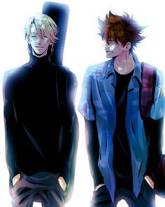 Tags: Fanart, Digimon, Digimon Adventures, Ishida Yamato, Yagami Taichi, Tumblr, Pixiv Id 7143120