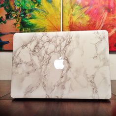 Loving my marble MacBook! [I have extra stickers left if anyone wants to order one...comment below!]