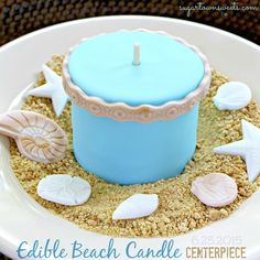 Sugartown Sweets: Edible Beach Candle Craft