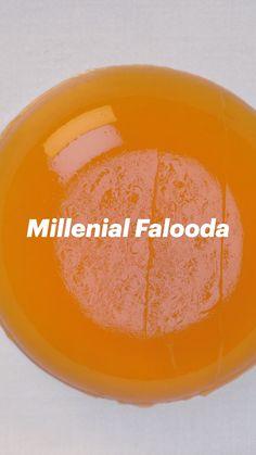 Falooda Recipe, Summer Drink Recipes, Indian Dessert Recipes, Vegetarian Snacks, Coffee Recipes, Yummy Food, Tasty, Food Dishes, Cooking Recipes