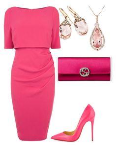 Vestido Rosa + Scarpin