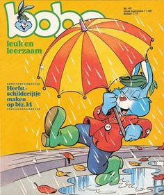 Bobo, mijn lijfblad, als kleuter