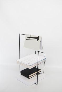 black, wire, magazine rack, home goods, decor #furnituredesign