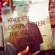 Finally found one of my personal Holy Hand Grenades of Antioch... #Kruder & #Dorfmeister The K&D Sessions #vinyl