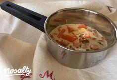 Fejtettbab-leves zöldséggel   Nosalty