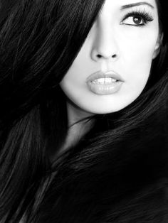 Close up portraits in awesome Black and White