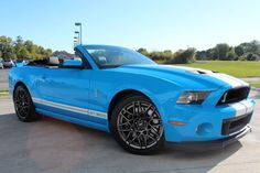 Dream car? Check out this ferocious 2013 Shelby GT500 convertible today #americanmuscle