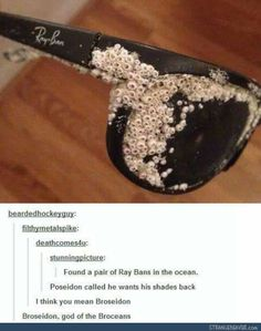 Broseidon should be the next super hero - Funny tumblr post: Facepalm, The Ocean, Blood Son, Brocean, Half Blood, Funny Tumblr Posts, Percy Jackson Tumblr Funny, Pjo Funny, The Voice