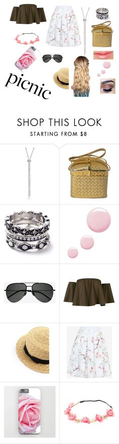 """""""Picnic"""" by cinderellsubstitute ❤ liked on Polyvore featuring WithChic, Topshop, Yves Saint Laurent, Boohoo and Ted Baker"""