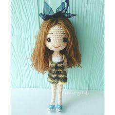 Cute crochetdoll ♡