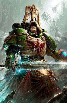 Warhammer Dark Angels, Dark Angels 40k, Warhammer 40k Figures, Warhammer Art, Warhammer 40k Miniatures, Warhammer Fantasy, Warhammer 40000, Warhammer Armies, Space Marine