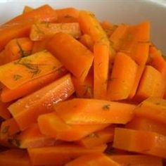 Carrots in Dill Butter