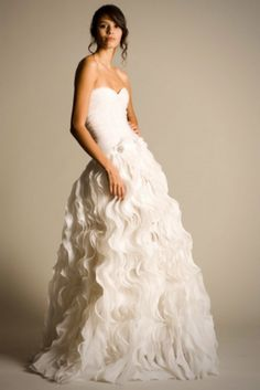 I wouldn't say no to getting married in this wedding dress