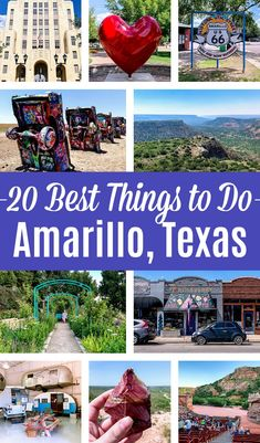 Heading to Amarillo, Texas? This Amarillo travel guide covers awesome things to do in Amarillo, Texas, the best hote Texas Roadtrip, Texas Travel, Travel Usa, Japan Travel, Travel Bags, Us Travel Destinations, State Parks, Texas Bucket List, Route 66 Road Trip