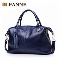 Barato Panne mulheres bolsa moda feminina bolsa de couro sacos de ombro grande e pequeno tamanho, Compro Qualidade Bolsas de Ombro diretamente de fornecedores da China: