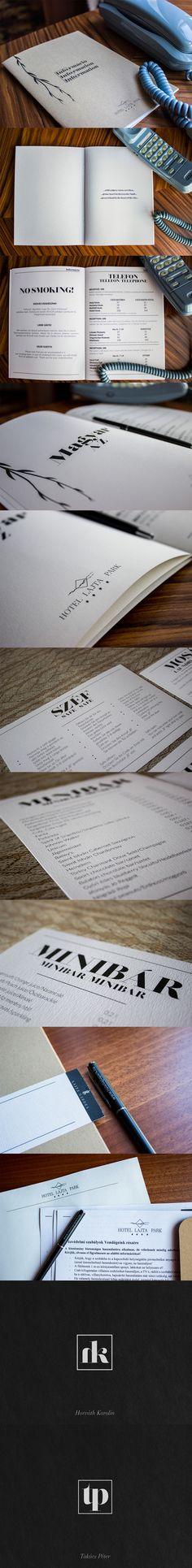 Design: Varga Balázs Project: Hotel Lajta Park Four stars hotel brand design Brand Design, My Works, Park, Parks, Branding Design, Corporate Design