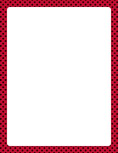 Printable red and black polka dot border. Free GIF, JPG, PDF, and PNG downloads at http://pageborders.org/download/red-and-black-polka-dot-border/. EPS and AI versions are also available.