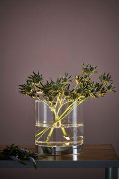 Markslöjd Bordlampe BOUQUET 19cm - Krom - Bordlamper - Ellos.no Glass Vase, Bouquet, Home Decor, Decorations, Homemade Home Decor, Bouquets, Floral Arrangements, Decoration Home, Nosegay