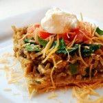 Hearty Taco Casserole - Shrinking Kitchen