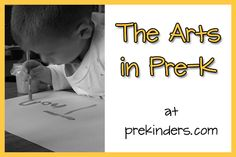 Pre-K Art and Music Ideas:  prekinders.com