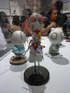 Voodoo Girl - Tim Burton exhibit at MOMA