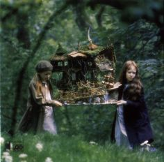 The most impressive fairy house I've ever seen, in one of my favorite films:  Fairy Tale.