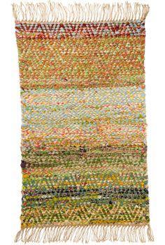 Handwoven rag rug in point twill. There is an excellent article on various twills (including point twills) in the April/May 2000 Weaver's Craft magazine, page 4. Back issues are available.