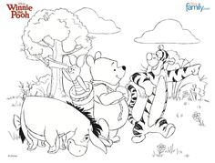 winnie the pooh coloring pages - Google-søgning