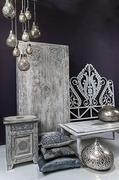 Take a look at these Moroccan Interior Design Ideas for inspiration. Moroccan style living room furniture suggestions that will create an authentic Moroccan feel. Morrocan Decor, Moroccan Bedroom, Moroccan Interiors, Moroccan Furniture, Hanging Lamp Design, Hanging Lamps, Ethno Design, Asian Interior, Moroccan Design