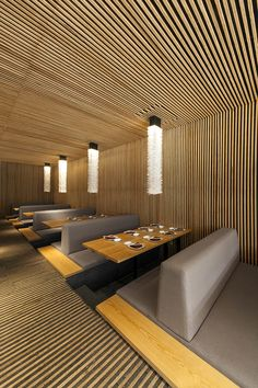 Kiga Restaurant - Mexico - by Cherem Arquitectos ....///////www.bedreakustik.dk/home DISCOUNT TO PINTEREST CUSTOMERS Dedicated to deliver superior interior acoustic experience.#pinoftheday///////