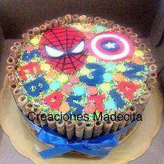 Resultado de imagen para tortas decoradas con chocolate y golosinas